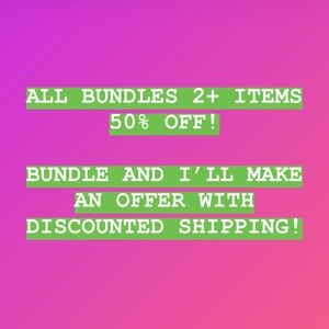 50% off Bundles